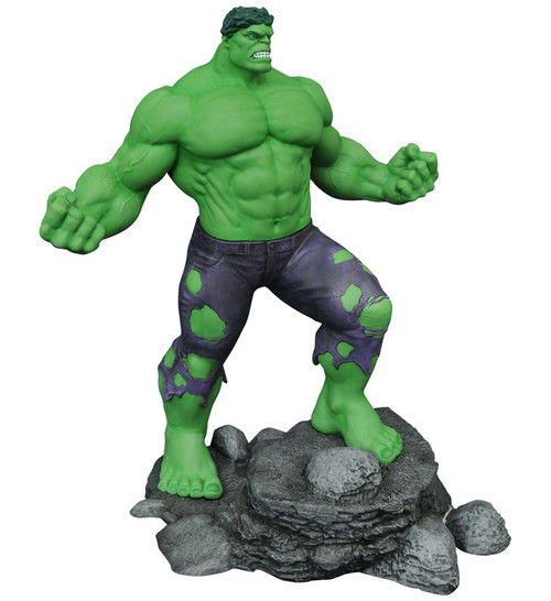 Marvel Gallery Hulk 11-Inch PVC Figure Statue [Green]