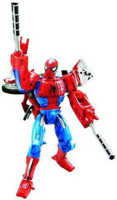 Marvel Transformers Crossovers Spider-Man Action Figure [Light Blue Costume]