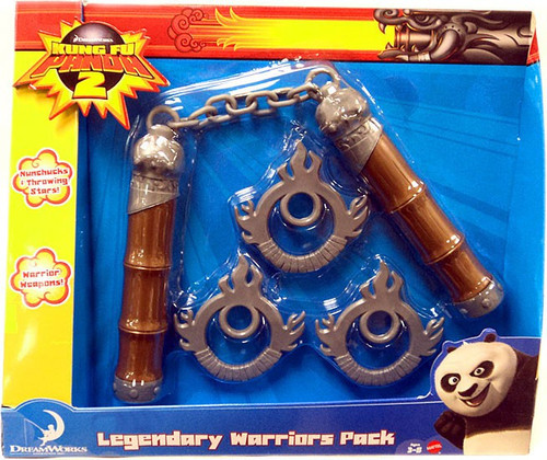 Kung Fu Panda 2 Legendary Warriors Pack Exclusive Roleplay Toy