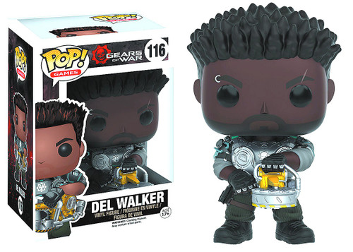 Funko Gears of War POP! Video Games Del Walker (Armored) Vinyl Figure #116