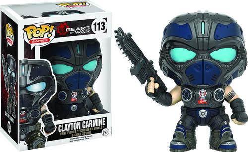 Funko Gears of War POP! Video Games Clayton Carmine Vinyl Figure #113