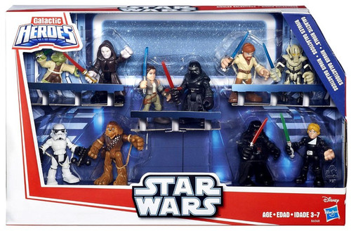 Star Wars Galactic Heroes Galactic Rivals Mini Figure 10-Pack Set