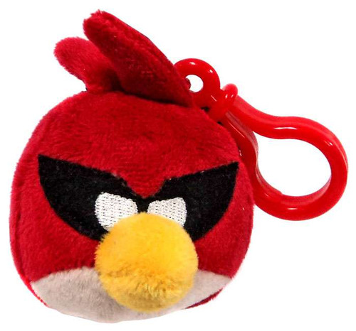 Angry Birds Space Super Red Bird Plush Backpack Clip