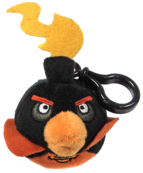 Angry Birds Space Firebomb Bird Plush Backpack Clip