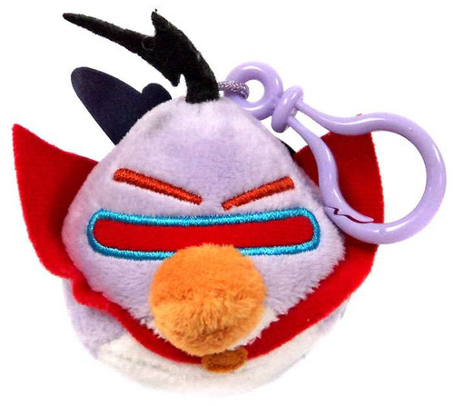 Angry Birds Space Lazer Bird Plush Backpack Clip