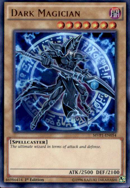 YuGiOh Dark Side of Dimensions Movie Ultra Rare Dark Magician MVP1-EN054