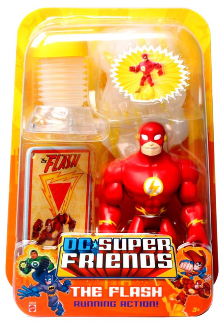 DC Super Friends The Flash Action Figure [Running Action!]
