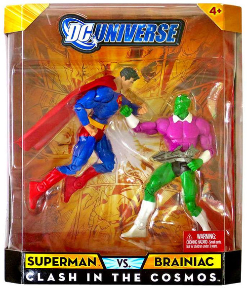 DC Universe Classics Superman vs Brainiac Action Figure 2-Pack