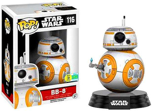 Funko The Force Awakens POP! Star Wars BB-8 Exclusive Vinyl Bobble Head #116