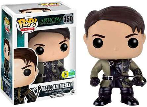 Funko DC Arrow POP! Heroes Malcolm Merlyn Exclusive Vinyl Figure #350