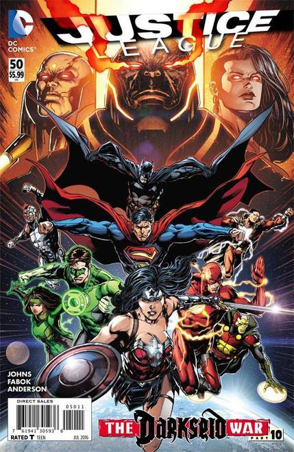 Justice League Vol 2 #50 Regular Cover A Comic Book [First Jessica Cruz as Green Lantern]