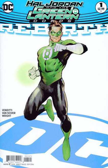 Hal Jordan and the Green Lantern Corps #1 Variant Cover B Comic Book [Cary Nord]