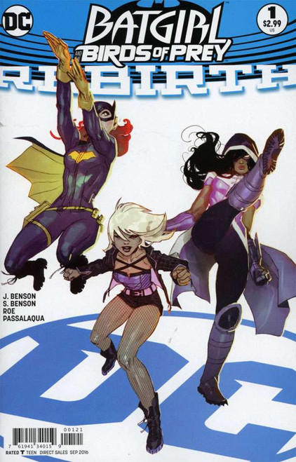 DC Batgirl and the Birds of Prey #1 Variant Cover B Comic Book [Ben Cadwell]