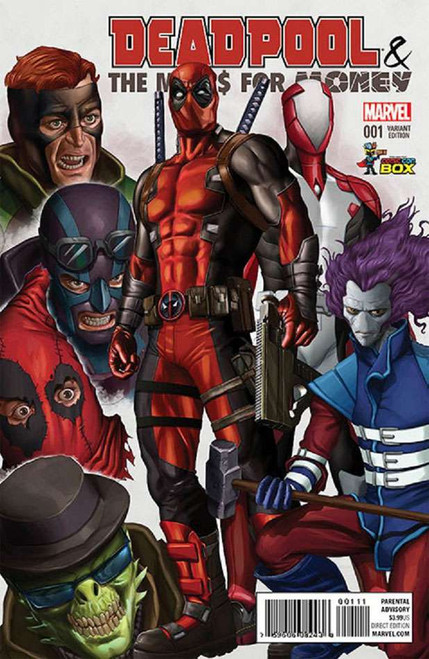 Deadpool Deapool & The Mercs for Money #1 Color Variant Cover Comic Con Box Comic Book [Polybagged, Greg Horn]