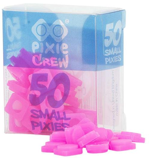 Pixie Crew Small Pixies Neon Pink 50 Count Sachet