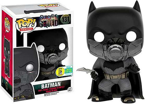 Funko DC Suicide Squad POP! Heroes Batman (Underwater) Exclusive Vinyl Figure #131
