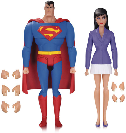 The Animated Series Superman & Lois Lane Action Figure 2-Pack