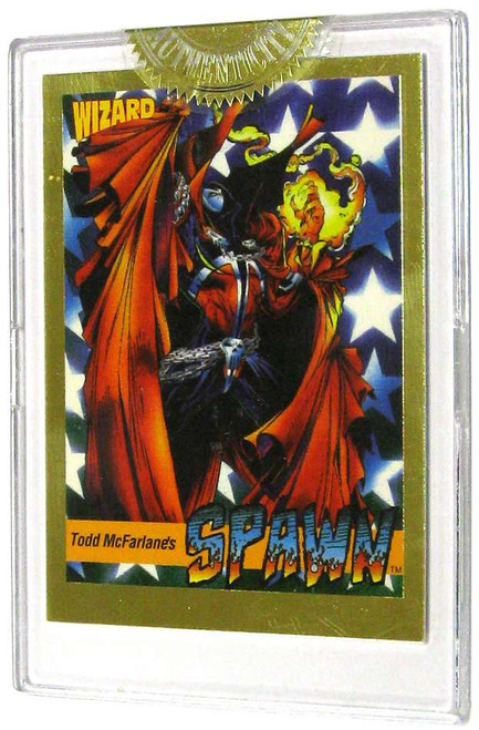 Wizard Magazine Gold Spawn Single Trading Card [Limited Edition]