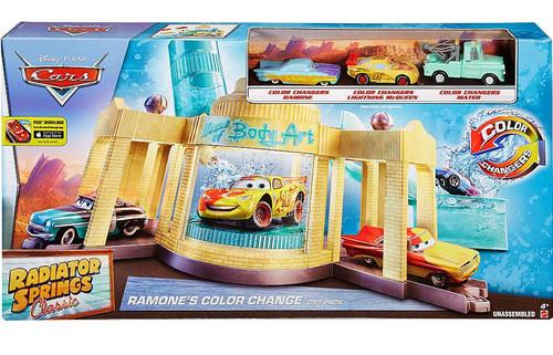 Disney / Pixar Cars Radiator Springs Classic Ramone's Color Change Exclusive Gift Pack [Ramone, McQueen & Mater!]