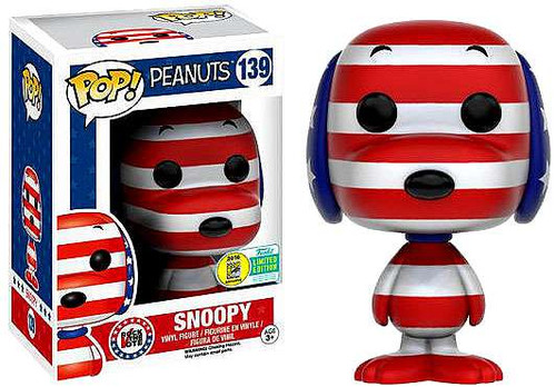 Funko Peanuts POP! TV Rock the Vote Snoopy Exclusive Vinyl Figures #139