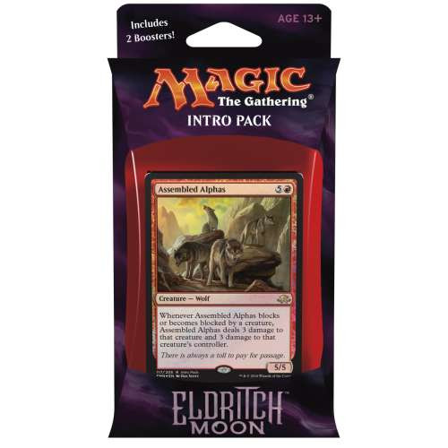 MtG Trading Card Game Eldritch Moon Untamed Wild Intro Deck
