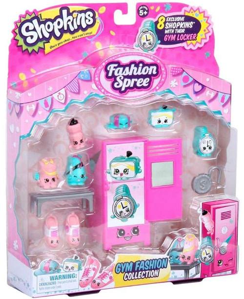 Shopkins Fashion Spree Gym Fashion Theme Pack
