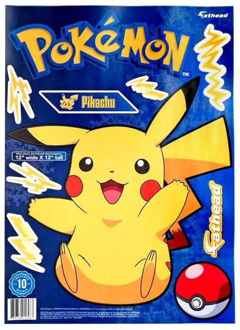 Pokemon Pikachu Vinyl Decals
