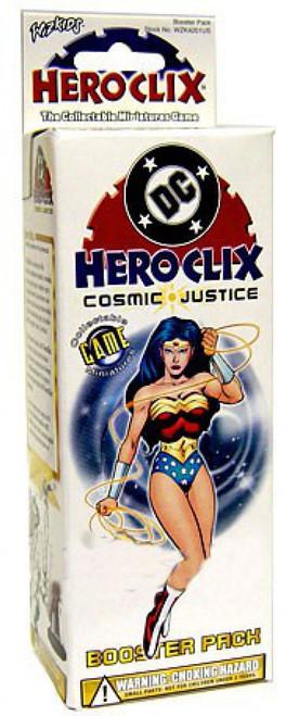 DC HeroClix Cosmic Justice Booster Pack [4 RANDOM Figures]