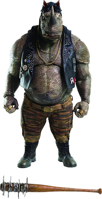 Teenage Mutant Ninja Turtles Out of the Shadows Rocksteady Collectible Figure