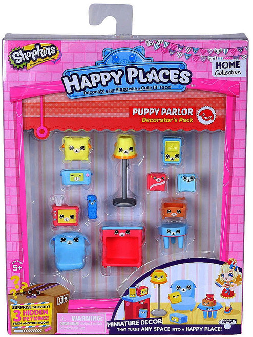 Shopkins Happy Places Series 1 Puppy Parlor Decorator's Pack