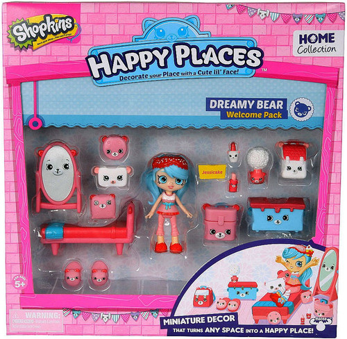 Shopkins Happy Places Dreamy Bear Welcome Pack [Jessicake]