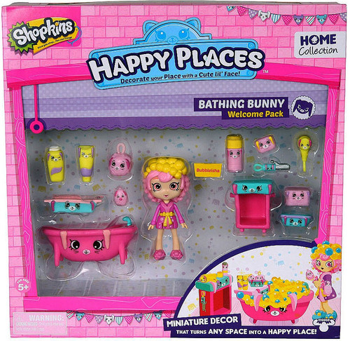 Shopkins Happy Places Bathing Bunny Welcome Pack [Bubbleisha]