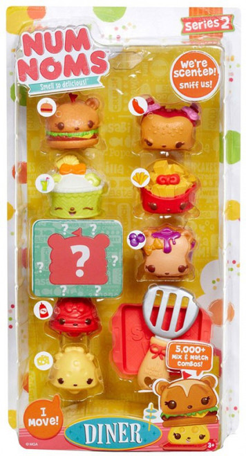 Num Noms Series 2 Diner Jumbo Combo Party 8-Pack