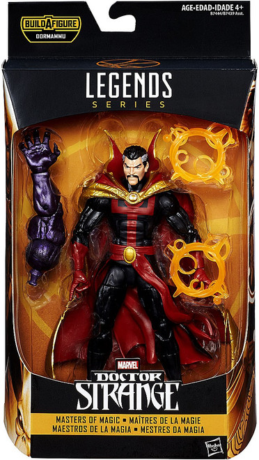 Doctor Strange Marvel Legends Dormammu Series Dr. Strange Comic Version Action Figure [Masters of Magic]