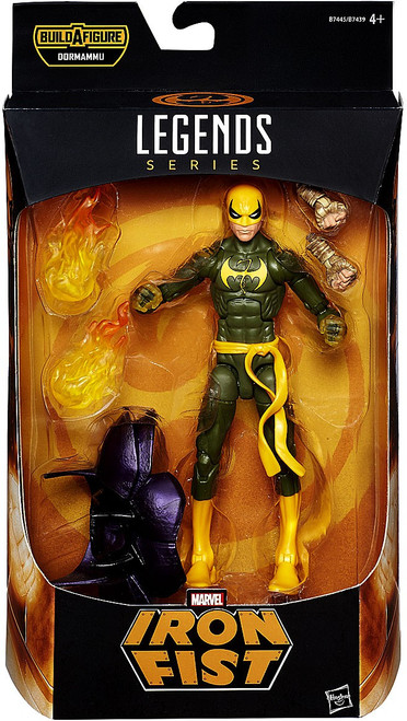 Doctor Strange Marvel Legends Dormammu Series Iron Fist Action Figure