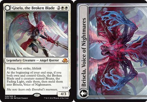 MtG Eldritch Moon Mythic Rare Gisela, the Broken Blade #28