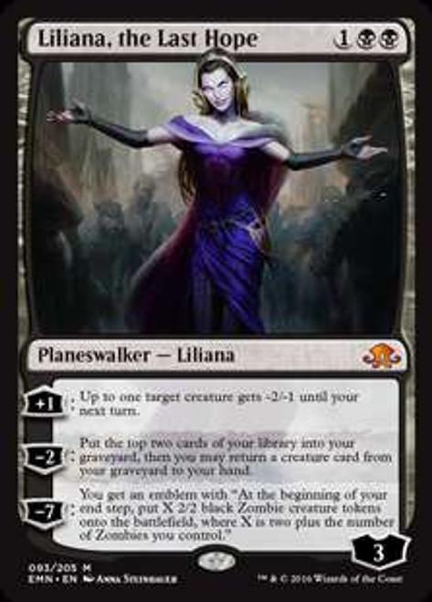 MtG Eldritch Moon Mythic Rare Liliana, the Last Hope #93