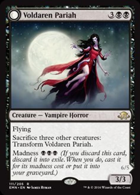 MtG Eldritch Moon Rare Voldaren Pariah #111
