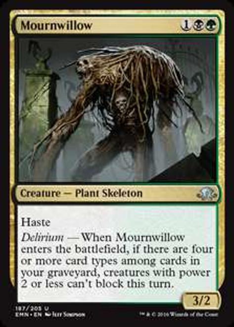 MtG Eldritch Moon Uncommon Mournwillow #187