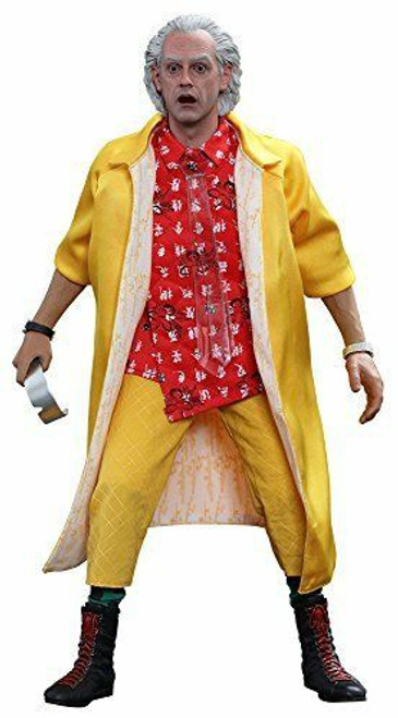 Back to the Future II Movie Masterpiece Dr. Emett Brown Collectible Figure
