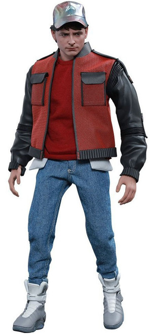 Back to the Future II Movie Masterpiece Marty McFly Collectible Figure [Future]