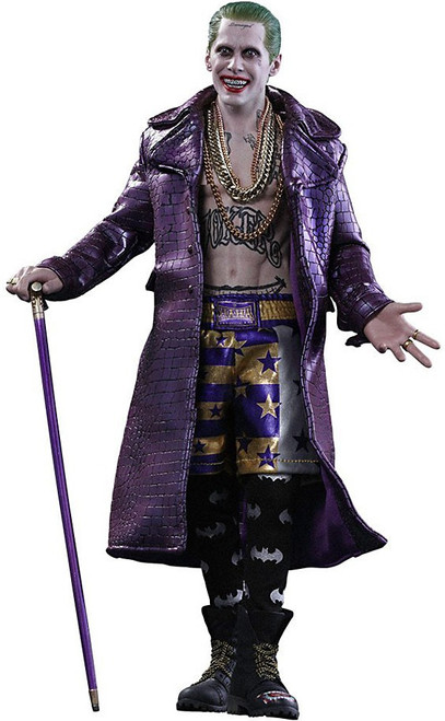 DC Suicide Squad Movie Masterpiece The Joker Collectible Figure [Purple Coat Version]