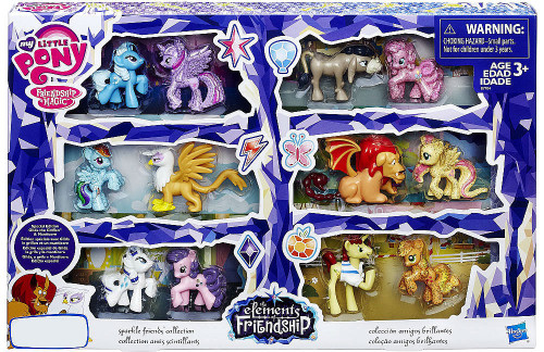 My Little Pony Elements of Friendship Twilight Sparkle Friends Collection Exclusive Mini Figures