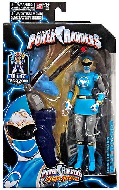Power Rangers Ninja Storm Legacy Build A Megazord Blue Ranger Action Figure [NS]