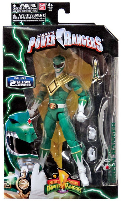 Power Rangers Mighty Morphin Legacy Build A Megazord Green Ranger Action Figure [MMPR]