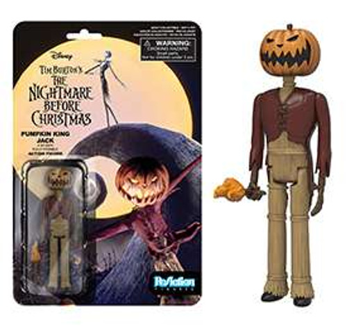 Funko Nightmare Before Christmas ReAction Pumpkin King Jack Action Figure