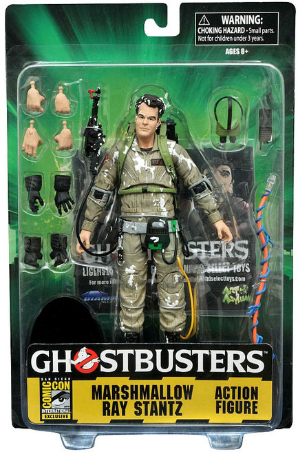Ghostbusters Classic Ray Stantz Exclusive Action Figure [Marshmallow]