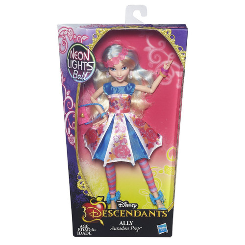 Disney Descendants Neon Lights Ball Ally of Auradon Prep 11-Inch Doll