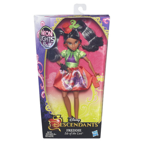 Disney Descendants Neon Lights Ball Freddie of Isle of the Lost 11-Inch Doll