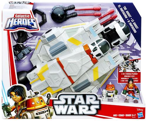 Star Wars Rebels Galactic Heroes The Ghost Vehicle